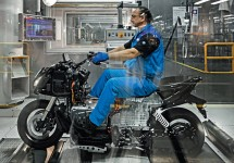Produktionsstart BMW C evolution