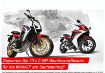 Mit Honda zum MotoGP