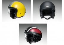 Shoei mit Retro-Helm